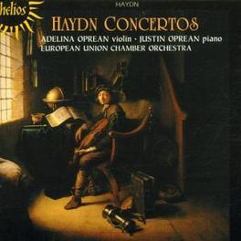CONCERTOS FOR VIOLIN, PIA ...PIANO & STRINGS/W/JUSTIN OPREAN-PIANO, ADELINA OPREA Audio CD, J. HAYDN, CD