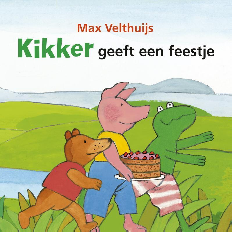 Kikker geeft een feestje Velthuijs, Max, Hardcover