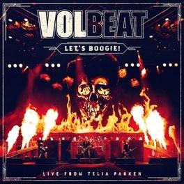 LET'S BOOGIE.. -LTD- .. -LIVE FROM TELIA PARKEN Volbeat, CD