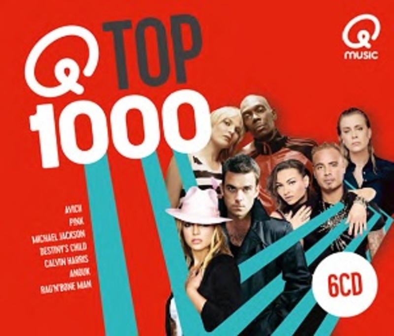QMUSIC TOP 1000 (2018) V/A, CD