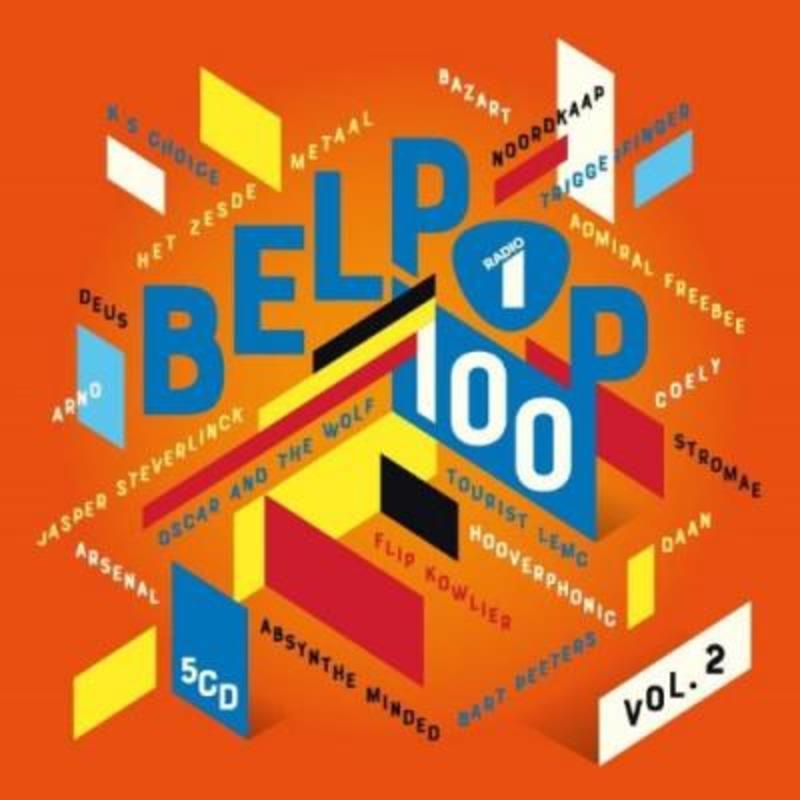 RADIO 1 - BELPOP 100.. .. VOL. 2 V/A, CD