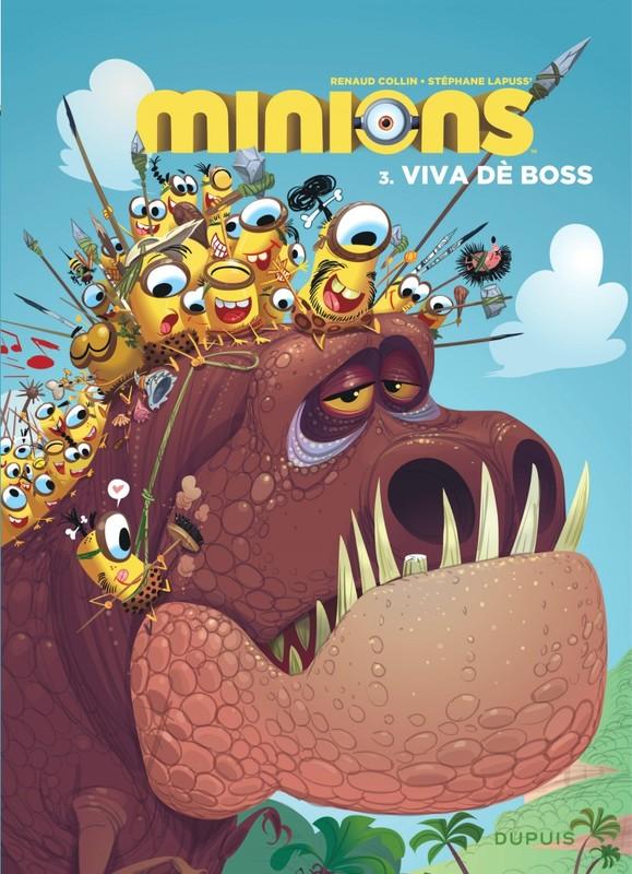 MINIONS 03. VIVA DE BOSS MINIONS, Lapuss', Stéphane, Paperback