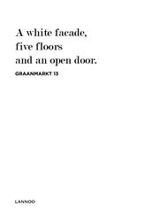 A white facade, five floors...