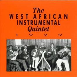 1929 Audio CD, WEST AFRICAN INSTRUMENTAL, CD