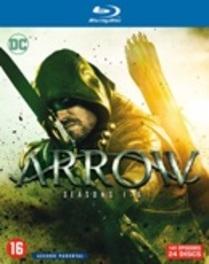 Arrow - Seizoen 1-6, (Blu-Ray) Blu-Ray