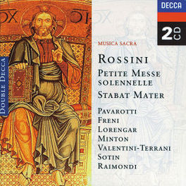 STABAT MATER/PETITE MESSE CORO POLIFONICO/LONDON SYMPH.ORCH./ISTVAN KERTESZ Audio CD, G. ROSSINI, CD