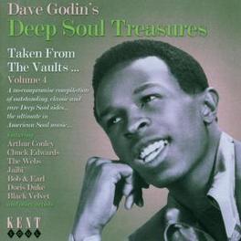 DAVE GODIN'S DEEP SOUL..4 ..TREASURES -W/ ROY HAMILTON, IRMA THOMAS, Audio CD, V/A, CD
