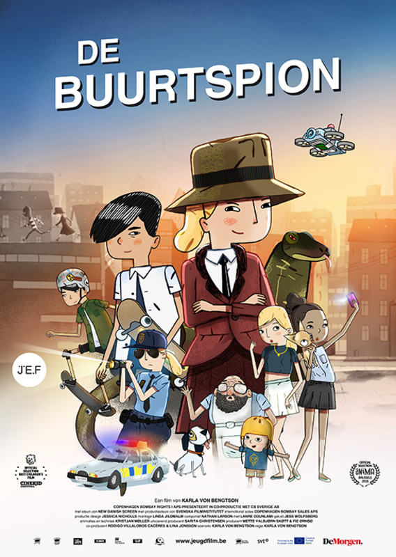 De buurtspion, (DVD) DVD