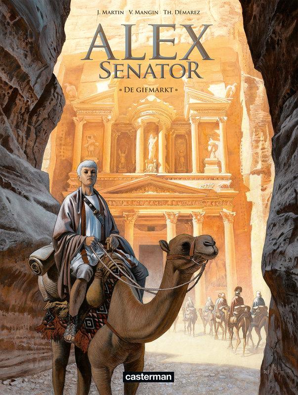 ALEX SENATOR 08. DE GIFMARKT ALEX SENATOR, Martin, Jacques, Paperback