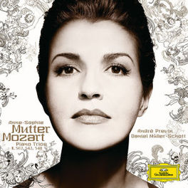 PIANO TRIOS K548,542,502 W/MULLER-SCHOTT, ANNE-SOPHIE MUTTER, ANDRE PREVIN Audio CD, W.A. MOZART, CD