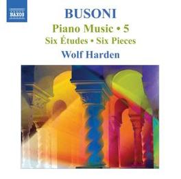 PIANO MUSIC 5 BACH ARR.//HARDEN, WOLF Audio CD, F. BUSONI, CD