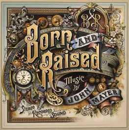 BORN AND RAISED JOHN MAYER, CD
