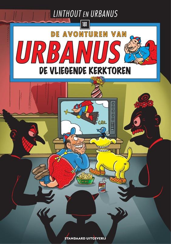 De vliegende kerktoren URBANUS, Willy Linthout, Paperback