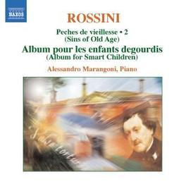 PECHES DE VIEILLESSE 2 MARANGONI Audio CD, G. ROSSINI, CD