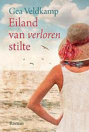 Eiland van verloren stilte Gea Veldkamp, Hardcover