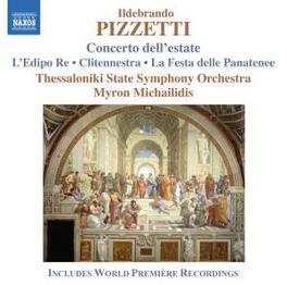CONCERTO DELL'ESTATE MICHAILIDIS, MYRON Audio CD, I. PIZZETTI, CD