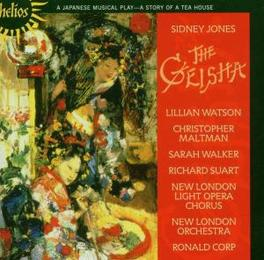 GEISHA - A STORY OF A.. .. TEA HOUSE//SOLOISTS NEW LONDON LIGHT OPERA CHO/CORP. Audio CD, SIDNEY JONES, CD