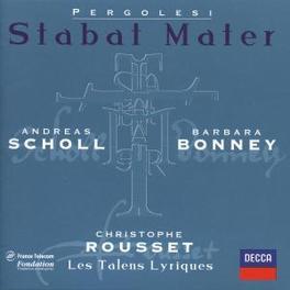 STABAT MATER-SALVE REGINA LES TALENS LYRIQUE/ROUSSET Audio CD, G.B. PERGOLESI, CD