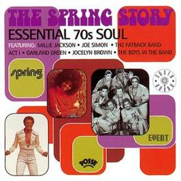 SPRING STORY 70S SOUL:JOE SIMON/JOCELYN BROWN/MILLIE JACKSON/ACT 1 Audio CD, V/A, CD