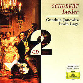 LIEDER VOL.1 G.JANOWITZ/I.GAGE Audio CD, F. SCHUBERT, CD
