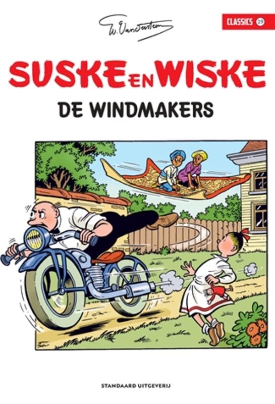 De windmakers SUSKE EN WISKE CLASSICS, Willy Vandersteen, Paperback