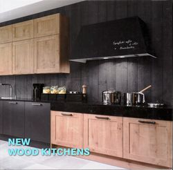 New Wood Kitchens, Hardcover