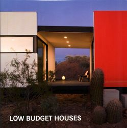 Low Budget Houses, Hardcover