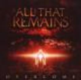 OVERCOME 2008 ALBUM Audio CD, ALL THAT REMAINS, CD