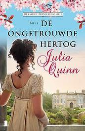 De ongetrouwde hertog Deel 1 van de Familie Bridgerton-serie, Julia Quinn, Paperback