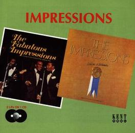 FABULOUS/WE'RE A WINNER 1967 AND 1968 LP'S ON 1 CD Audio CD, IMPRESSIONS, CD