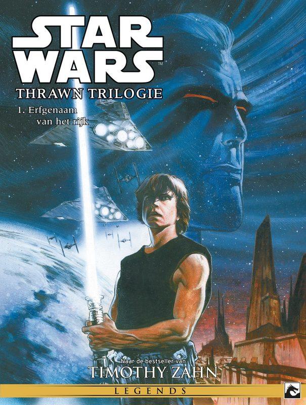 Star Wars Legends Thrawn Trilogie 1 SC 1 Erfgenaam van het keizerrijk SC, Mike Baron, Paperback