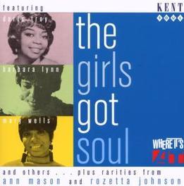 GIRLS GOT SOUL ARETHA FRANKLIN, DORIS TROY, MARY WELLS, PATTI LABELLE, Audio CD, V/A, CD