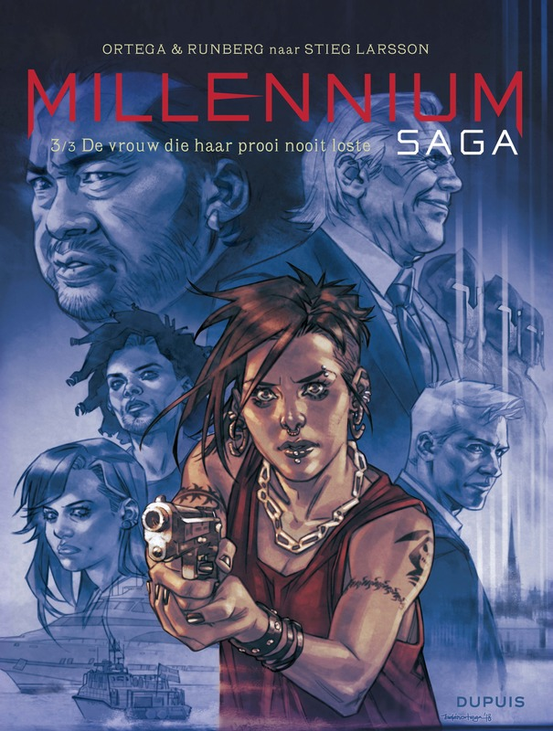 MILLENNIUM SAGA 03. DE VROUW DIE HAAR PROOI NOOIT LOSTE 3/3 MILLENNIUM SAGA, Runberg, Sylvain, Paperback