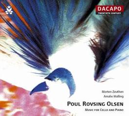 MUSIC FOR CELLO & PIANO MORTEN ZEUTHEN/AMALIE MELLING P.R. OLSEN, CD
