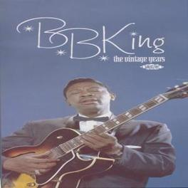 VINTAGE YEARS -BOXSET- 106 TRACKS, RECORDINGS FROM THE 50'S & 60'S FOR MODERN Audio CD, B.B. KING, CD
