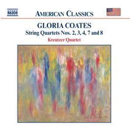 STRING QUARTETS 2 KREUTZER QUARTETT G. COATES, CD