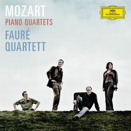 PIANO QUARTETS K478 & 493 FAURE QUARTETT Audio CD, W.A. MOZART, CD