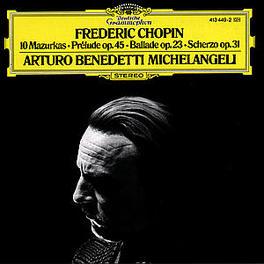 MAZURKAS/PRELUDE/.. .. BALLADE/SCHERZO Audio CD, ARTURO BENE MICHELANGELI, CD