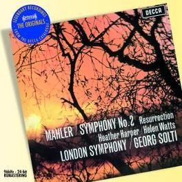 SYMPHONY NO.2 LONDON S.O./SIR GEORG SOLTI Audio CD, G. MAHLER, CD