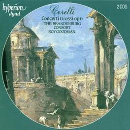 CONCERTI GROSSI OP.6 W/BRANDENBURG CONSORT Audio CD, A. CORELLI, CD