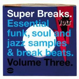 SUPER BREAKS 3 -16TR- W/ M.GAYE, COASTERS, FUNKADELIC, J.JENKINS, J.PONDER,.. V/A, LP