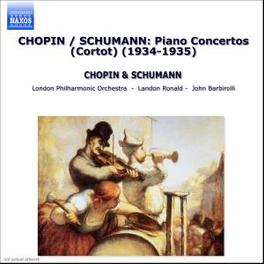 PIANO CONCERTOS WORKS BY SCHUMANN... ALFRED CORTOT, CD