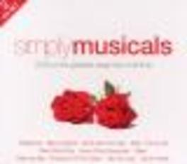 SIMPLY MUSICALS WORKS FROM EVITA/OKLAHOMA/MARY POPPINS/FUNNY GIRL/AO Audio CD, V/A, CD