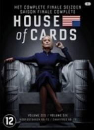 House of cards - Seizoen 6, (DVD) BILINGUAL /CAST: ROBIN WRIGHT Dobbs, Michael, DVDNL