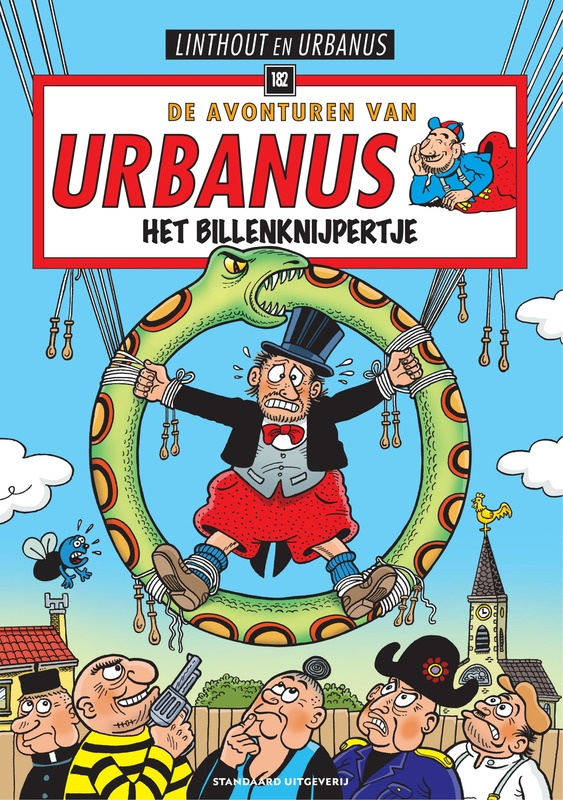 Het billenknijpertje URBANUS, Willy Linthout, Paperback