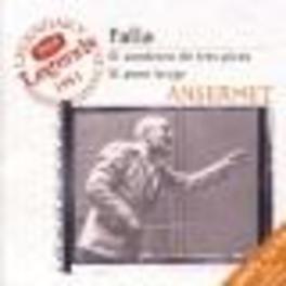 EL SOMBRERO DE TRES PICOS W/BERGANZA, SUISSE ROMANDE ORCH., ERNEST ANSERMET Audio CD, M. DE FALLA, CD