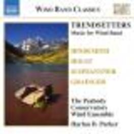 TRENDSETTERS WORKS BY HINDEMITH/HOLST... Audio CD, PEABODY CONSERVATORY WIND, CD