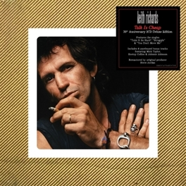 TALK IS CHEAP -DELUXE- 30TH ANNIVERSARY 2CD DELUXE MEDIABOOK EDITION KEITH RICHARDS, CD