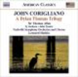 A DYLAN THOMAS TRILOGY NASHVILLE S.O./LEONARD SLATKIN Audio CD, CORIGLIANO, CD