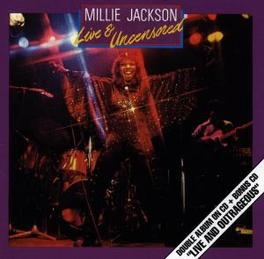 LIVE AND UNCENSORED/.. ../LIVE AND OUTRAGEOUS Audio CD, MILLIE JACKSON, CD